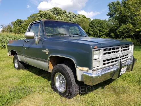 Rustfree Classic 4x4 & 2 & 4 wheel drive Truck s, K5 Blazer