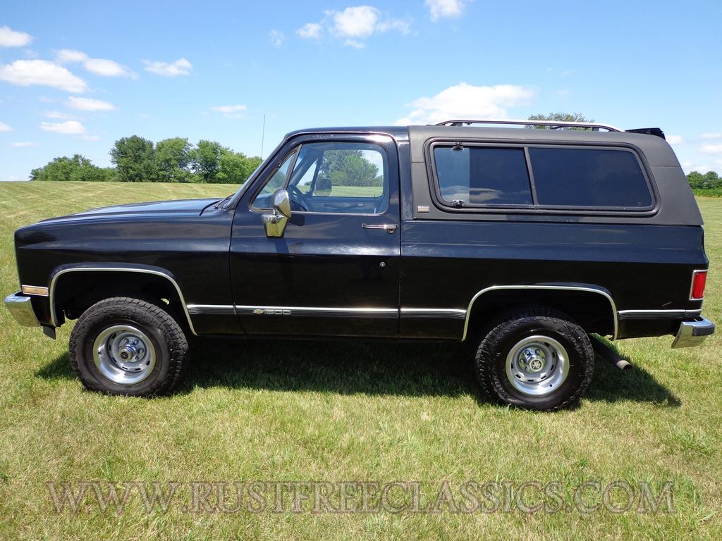 1990 K5 Chevy Blazer Black fully loaded Silverado Chevrolet 90