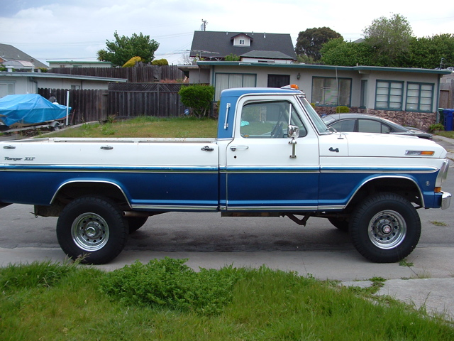1972 Ford F-250 4x4