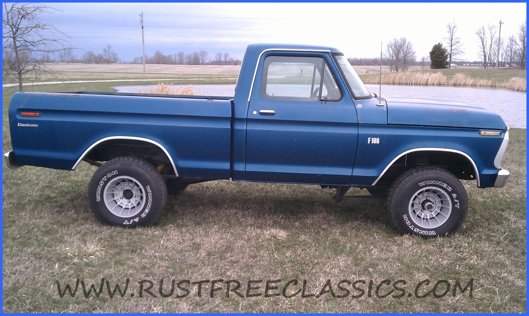 75 Ford F100 4x4 For Sale.html   Autos Post