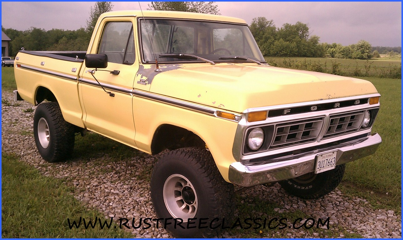1977 Ford F150 4x4 Short Bed For Sale | Autos Weblog