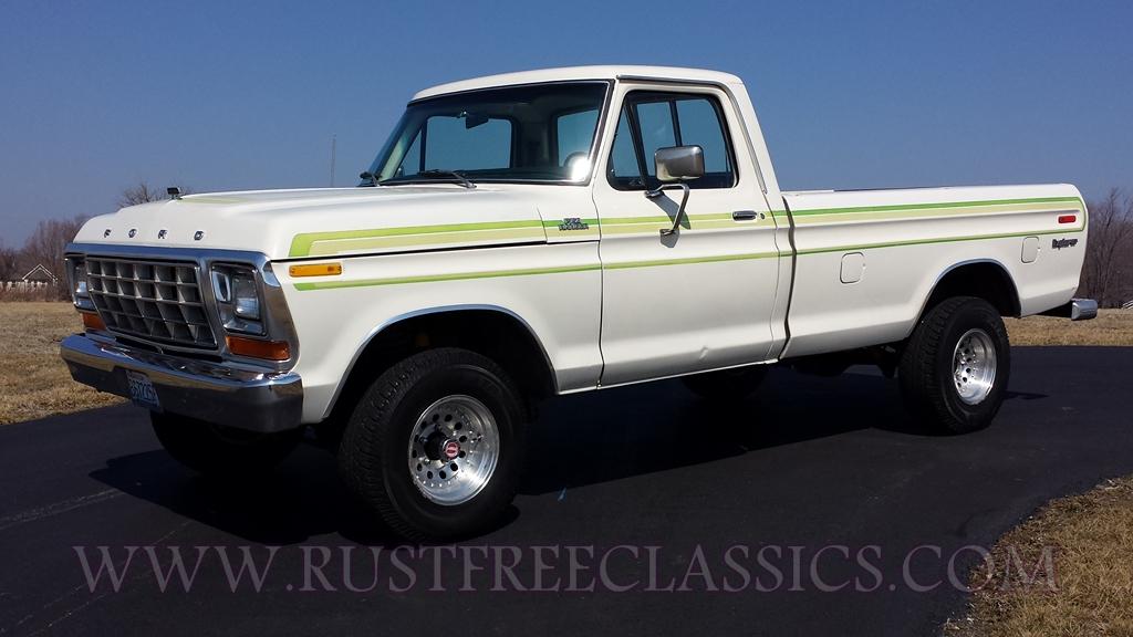 1978 F150 1  2 Ton Long Bed 4x4 Regular Cab Explorer Ranger