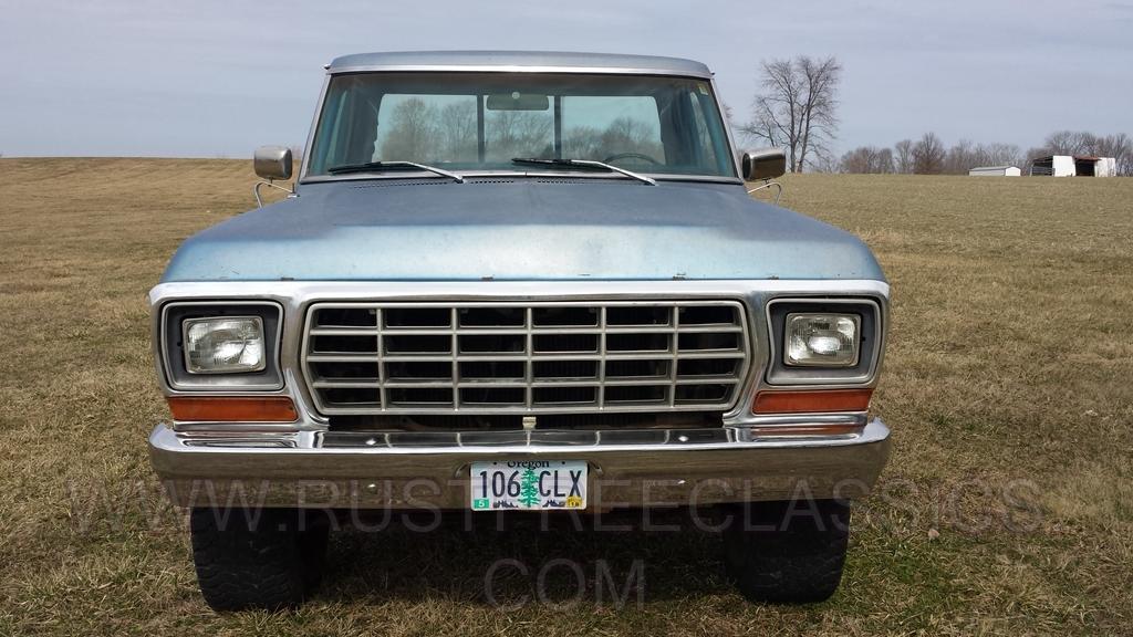 1978 F150 Swb Ranger Blue 78 Xlt Short Bed