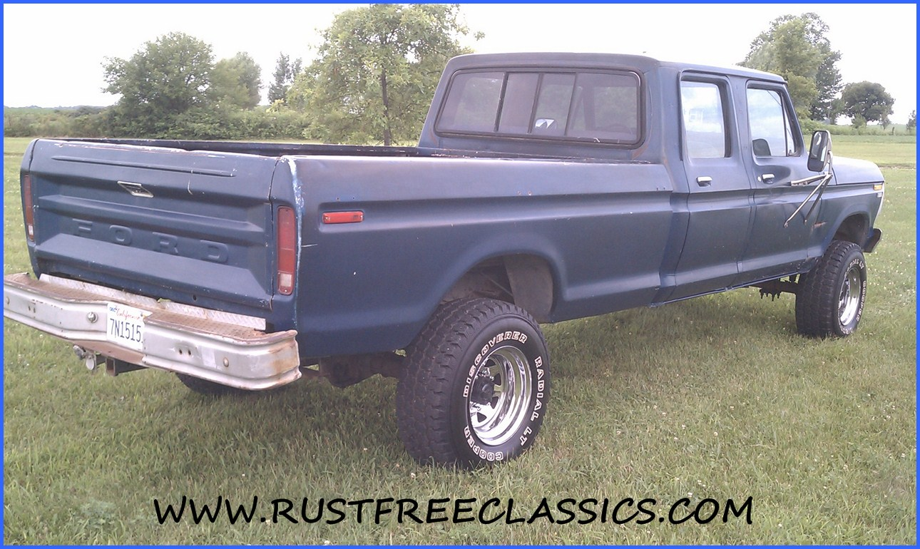 78 79 Ford Crew Cab For Sale | Autos Weblog