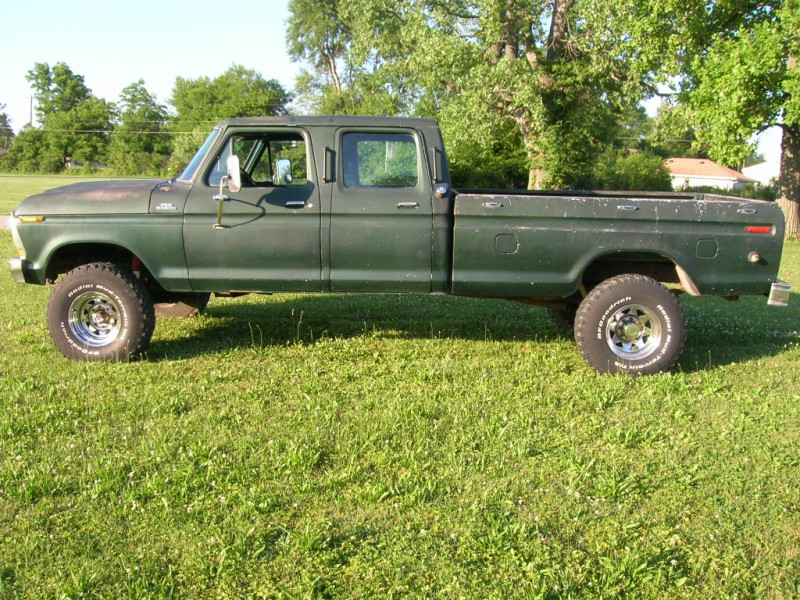 1978 Ford F250 Crew Cab 1978 f250 3/4 ton long bed