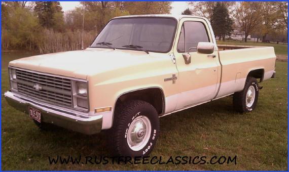1985 chevy truck custom deluxe