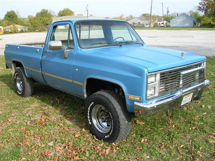 1987 chevy 3/4 ton